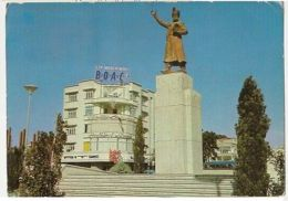 IRAN - TEHRAN - FERDOSI SQUARE - EDIT H. KASHANI - STAMP - 1960s ( 65 ) - Cartes Postales