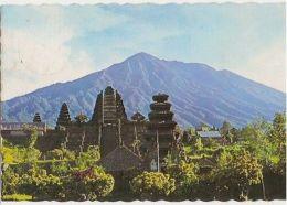 INDONESIA - BESAKIH TEMPLE TEMPLE OF BALI - STAMP - 1980s ( 61 ) - Cartes Postales