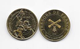 Médaille Château Guillaume Le Conquérant Falaise Trésors De France   édition 2008 ARTHUS BERTRAND /33NAT - Arthus Bertrand