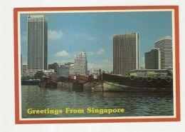 SINGAPORE - COMMERCIAL CENTER - EDIT ASSOCIATED MARKETING AGENCY PTE. LTD ( 22 ) - Cartes Postales