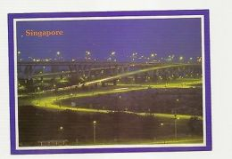 SINGAPORE - MAJOR NEW HIGHTWAY - FROM THE SEA TO CHANGI AIRPORT  ( 20 ) - Cartes Postales