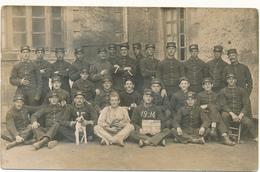 Carte Photo Militaire - Les Elèves Cabots De La 31°, 147 Sur Col Et Képi - Guerre 1914-18