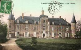 CPA - MARSEILLE-en-BEAUVAISIS (60) - Aspect Du Château En 1916 - Marseille-en-Beauvaisis
