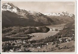 SWITZERLAND - SUVRETTA HOUSE MIT CHAMPFER SILVAPLANA - FOTO MAX - 1950s ( 103 ) - Cartes Postales