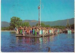 GREECE - CORFOU / CORFU - CLUB MEDITERRANEE-  STAMP 1960s  ( 41 ) - Cartes Postales