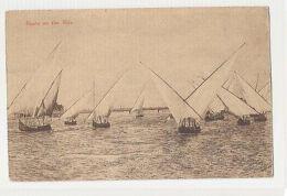 EGYPT - BOATS ON THE NILE -  BEDRESHIN VILLAGE 1910s ( 397 ) - Cartes Postales