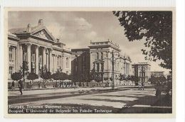 SERBIA - BELGRADE / BEOGRAD - L'UNIVERSITE - FAKULTE TECHINIQUE - 1930s ( 348 ) - Cartes Postales