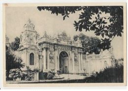 TURKEY - ISTANBUL - GATE DOLMABAHCE PALACE - EDIT DOGAN KARDES - 1950s ( 297 ) - Cartes Postales