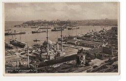 TURKEY - CONSTANTINOPLE / ISTANBUL - VUE DU PORT - EDIT AHITOUV 1930s ( 290 ) - Cartes Postales