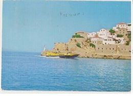 GREECE - HYDRA - CHARACTERISTIC SIDE OF HARBOUR -  STAMP ( 38 ) - Cartes Postales