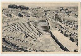 TURKEY - BERGAMA - AMPHITEATRE  - EDIT DOGAN KARDES - STAMP- 1950s ( 301 ) - Cartes Postales