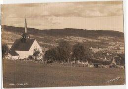 NORWAY - FOLLEBU KIRKE - EDIT NORMANNS - STAMPS - 1940s ( 91 ) - Cartes Postales