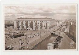 SWEDEN - GOTEBORG - VY OVER DROTTNINGTORGET MET POSTHUSET - 1950s ( 181 ) - Cartes Postales