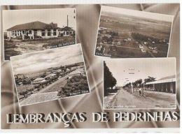 BRAZIL - LEMBRANCAS DE PEDRINHAS - 4 SIGHTS - FOTO STUDIO PRAVATO - 1960s ( 63 ) - Cartes Postales