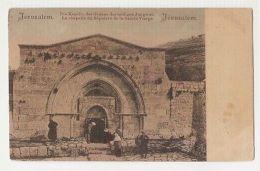 ISRAEL - JERUSALEM - LA CHAPELLE DU SEPULCRE DE LA SAINTE VIERGE - 1900s ( 156 ) - Cartes Postales