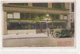 U.S.A. - SAN FRANCISCO - OUTSIDE - SUNSET CAFETERIA - O'FARREL ST. 1910s ( 269 ) - United States