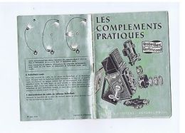 ROLLEIFLEX ROLLEICORD - VINTAGE CAMERA BOOKLET BROCHURE - FRANCE EDITION - Non Classés