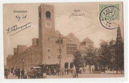 NETHERLANDS - AMSTERDAM - BEURS - EDIT A.J. NUSS - 1908 ( 331 ) - Cartes Postales
