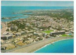 GREECE - RHODES / RODI - GENERAL VIEW  - STAMP - 1970s ( 31 ) - Cartes Postales