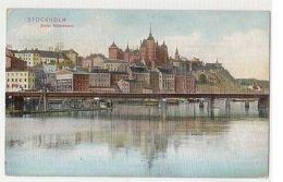 SWEDEN - STOCKHOLM - SODER MALARSTRAND - EDIT FRANKE & CO.  1909  ( 237 ) - Cartes Postales