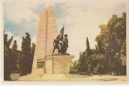 TURKEY - ISTANBUL - BARBAROSSA MONUMENT - EDIT DOGAN KARDES - 1950s ( 305 ) - Cartes Postales