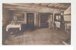 SWEDEN - SKANSEN - INTERIOR FRAN BOLLNASSTUGAN HALSINGLAND  1920s ( 187 ) - Cartes Postales
