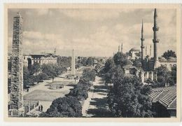 TURKEY - ISTANBUL - THE HIPPODROME & MOSQUE - EDIT DOGAN KARDES - 1950s ( 296 ) - Cartes Postales