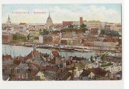 SWEDEN - STOCKHOLM - SODERMALM - EDIT FRANKE & CO.  1909  ( 238 ) - Cartes Postales