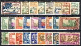 Nouvelle Caledonie 1928-38  Bel Lotto Di 26 Diversi Valori Della Serie  N. 139-16 Misti MNH, MH E Usati. Cat. € 37 - New Caledonia