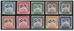 Honduras 1958 SC C279-C288 MNH - Honduras