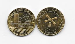 Médaille Cité De La Voile Eric Tabarly Lorient 59 Morbihan  2008 Trésors De France Arthus Bertrand /33NAT - Arthus Bertrand