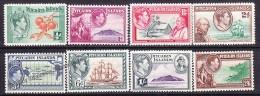 Pitcairn 1940 Yvert 1- 8, Definitive, George VI  - MNH - Islas De Pitcairn