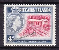 Pitcairn 1958 Yvert 31, Elizabeth II - MNH - Islas De Pitcairn