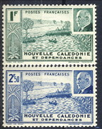Nouvelle Caledonie 1941 Serie N. 193-194 MNH Cat. € 2 - Nuova Caledonia