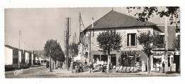 YVELINES  /  LES  CLAYES-sous-BOIS  / RUE MAURICE-JOUET ET PLACE DE LA REPUBLIQUE ( Magasin RADIO-TV ) /  CARTE  DOUBLE - Les Clayes Sous Bois