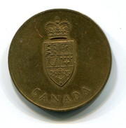 1967 Canada Confederation Centennial Commemorative Medal - Tokens & Medals