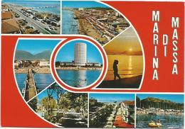 T1987-88 Marina Di Massa - Panorama Multipla Vedute / Non Viaggiata - Massa