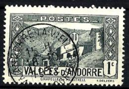 Andorra Francesa Nº 24 Usado