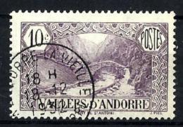 Andorra Francesa Nº 28 Usado