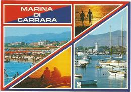 T1989 Marina Di Carrara - Panorama Multipla Vedute / Non Viaggiata - Carrara