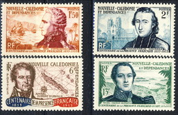 Nouvelle Caledonie 1953 Serie N. 280-283 MNH Cat. € 46 - Nuova Caledonia
