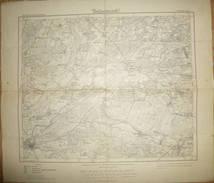 Karte Des Deutschen Reiches - 291 Burg An Der Ihle - Umdruckausgabe! 1921 - Topographische Karten