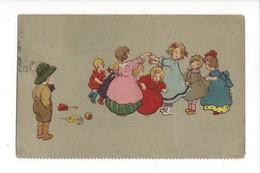 16208 - Danse Rondin Picotin Filles Et Garçon Les Admirant - Autres