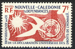 Nouvelle Caledonie 1958 N. 290 MNH Cat. € 2.70 - Nuova Caledonia