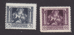 Czechoslovakia, Scott #B127-B128, Mint Hinged, Mother And Child, Issued 1919 - Czechoslovakia