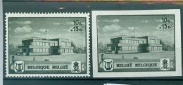 537A+ B  XX- - Belgium