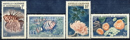 Nouvelle Caledonie 1958 Serie N. 291-294 MNH Cat. € 14.90 - Nuova Caledonia