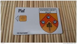 Carte Piaf Belgique Knokke Heist  09/07  Etat Pas De Luxe Tirage 1000 Ex Rare 2 Scans - France