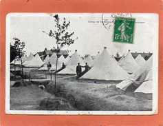02 CAMP DE SISSONNE Coin De Campement Animée Cpa  Année 1914 - Sissonne