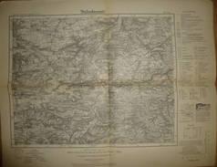 Karte Des Deutschen Reiches - 439 Jena - Umdruckausgabe! 1933 - Topographische Karten